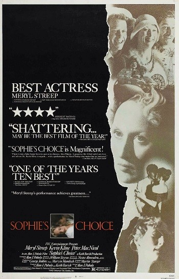 Выбор Софи / Софи делает выбор / Sophies Choice (1982) BDRemux 1080p от MediaClub | A